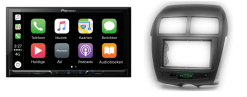 Carplay & Android incl DAB+ Pioneer autoradio navigatie Citroen C4 aircross 2012+