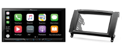 Carplay & Android incl DAB+ Pioneer autoradio navigatie Mercedes Vito