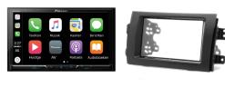 Carplay & Android incl DAB+ Pioneer autoradio navigatie Suzuki SX4  / Fiat Sedici