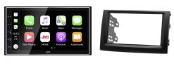 Navigatie DAB+ autoradio met Carplay en Android auto JVCKenwood voor SKODA Fabia 2003-2006