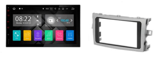 TOYOTA Verso autoradio met navigatie Android 7.1