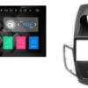 FORD Fiesta (zwart met display) autoradio met navigatie Android 7.1