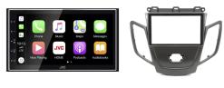 Navigatie DAB+ autoradio met Carplay en Android auto JVCKenwood voor FORD Fiesta (zwart zonder display)