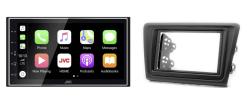 Navigatie DAB+ autoradio met Carplay en Android auto JVCKenwood voor SKODA Rapid