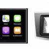 Navigatie DAB+ autoradio met Carplay en Android auto JVCKenwood voor SEAT Leon