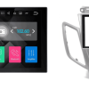 FORD Fiesta 2008-2017 (zilver zonder display) autoradio met navigatie Android 7.1