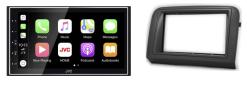 Navigatie DAB+ autoradio met Carplay en Android auto JVCKenwood voor FIAT Croma