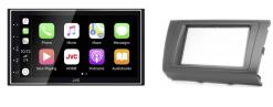 Navigatie DAB+ autoradio met Carplay en Android auto JVCKenwood voor Suzuki Swift