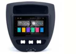 CITROEN C1 / TOYOTA Aygo / PEUGEOT 107 autoradio met navigatie Android 7.1