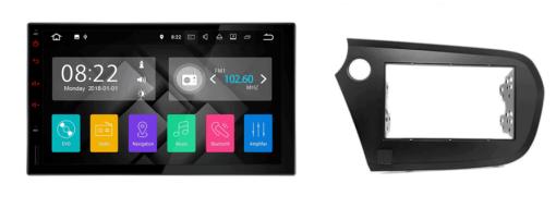 HONDA Insight autoradio met navigatie Android 7.1