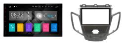 FORD Fiesta (zwart zonder display) autoradio met navigatie Android 7.1
