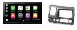 Carplay & Android incl DAB+ Pioneer autoradio navigatie Honda Civic Sedan