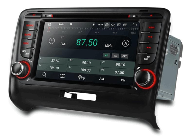 navigatie android 8 1 autoradio voor audi tt d autoradiostunter van nederland scherpe. Black Bedroom Furniture Sets. Home Design Ideas