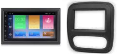 RENAULT Trafic OPEL Vivaro navigatie Android 9.1 autoradio bluetooth carkit usb
