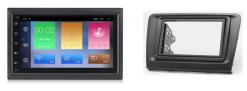 SKODA SuperB navigatie Android 9.1 autoradio bluetooth carkit usb