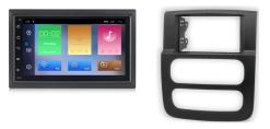 DODGE RAM navigatie Android 9.1 autoradio bluetooth carkit usb